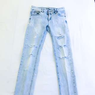 Stradivarius distressed jeans