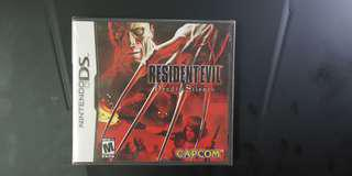 Nintendo DS Resident Evil Deadly Silence USA Sealed