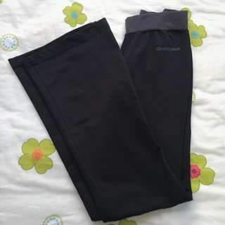 Black Diadora Exercise Pants
