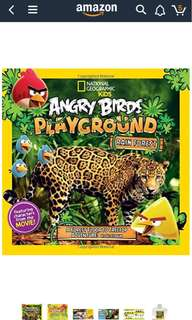 National Geographic Kids Angry Birds Playground Rain Forest