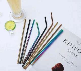 Eco-friendly STEEL STRAW