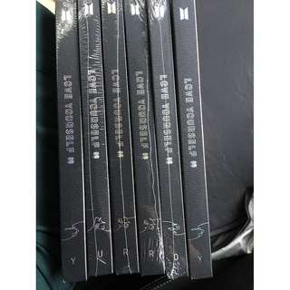 ready stock: BTS Tear Albums (sealed & unsealed) & Poster