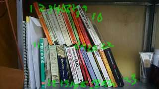 Move out sale variety of books $5 each