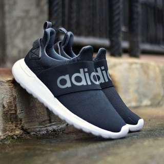 Adidas Cloudfoam Slip-on BYD Black And White