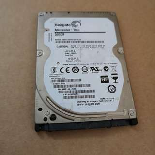 Seagate Hard Disk 500GB 7mm
