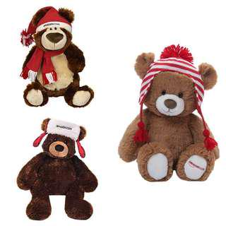 🚚 New 3 Exclusive Amazon Gund Bear