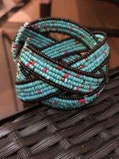 Thick Blue Bracelet