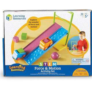 Learning Resources STEM Force & Motion Activity Set, 20 Pieces
