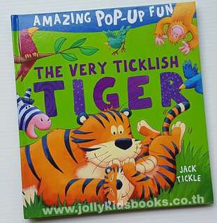 "🚚 Amazing pop up fun "" The very ticklish tiger"""