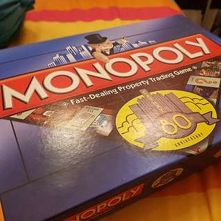RARE LIMITED EDITION CATHAY SINGAPORE Monopoly Board Game