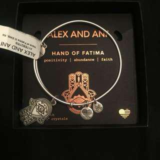 Brand New Alex&Ani Hand of Fatima bracelet