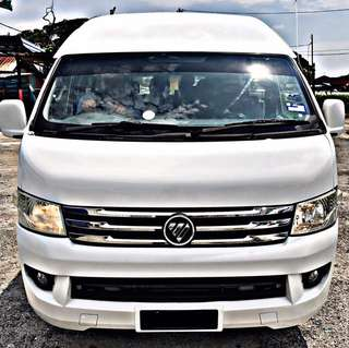 FOTON TRANSPOTER 2.8 DIESEL TURBO 2014