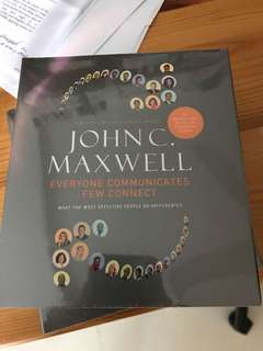 John Maxwell everyone communicates few connect audiobook