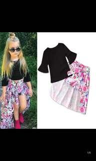 PO Kids stylish dress set brand new size 80-120cm brand new
