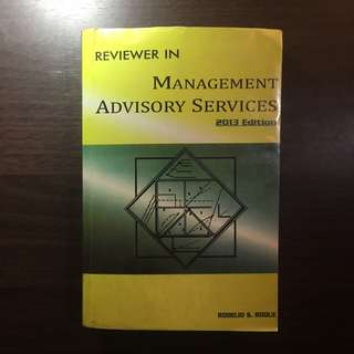 Management Advisory Services Reviewer by Roque 2013 Ed.