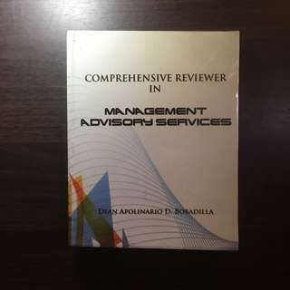 Comprehensive Reviewer in Management Advisory Services by Bobadilla