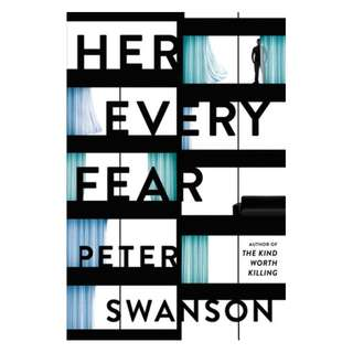 E-book English Novel - Her Every Fear by Peter Swanson