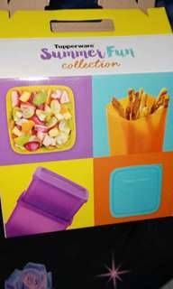Tupperware summer fun collection