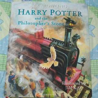 Illustrated Harry Potter and the Philosophers Stone