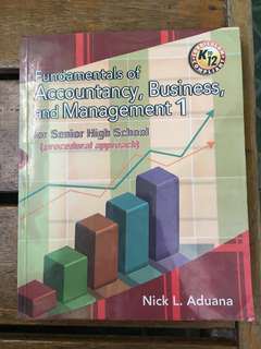 Accounting book (FABM 1)