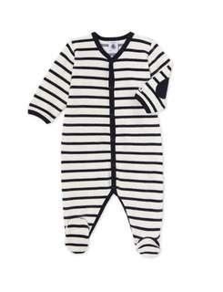 Petit Bateau Stripe Bodysuit