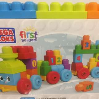 Fisher-Price 123 learning train Megablocks