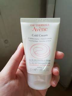 Eau thermale avene cold cream hand cream