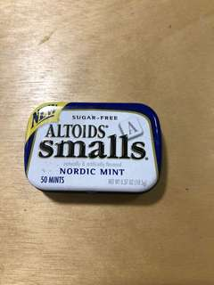 🚚 Altoids smalls - empty