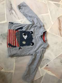 6-9 months 9kg 100% cotton Mothercare Long sleeve top