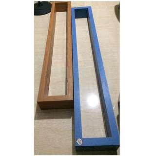 Laminated Blue Shelf