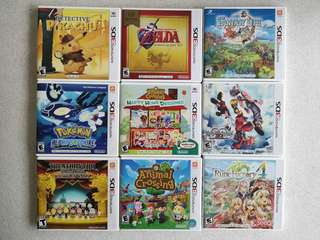 3DS Preloved Games