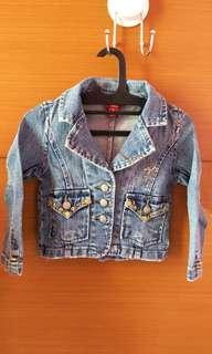 Jacket jeans anak 2 twhun