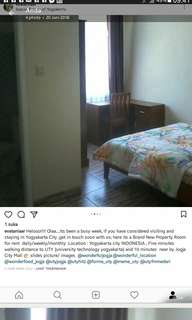 Property Room for rent daily/weekly/monthly