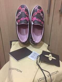 Louis Vuitton Monogram Bay Slip On Sneakers