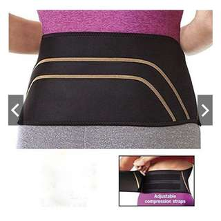 🚚 Men Women Copper Back Pro Lower Back Support Lumbar Compression Belt Closure