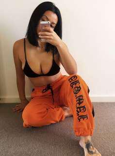 I.AM.GIA orange pants