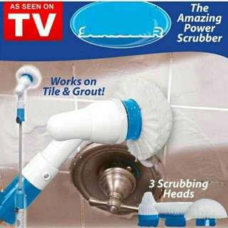 *FREE DELIVERY to WM only / Ready stock* Hurricane spin scrubber set as shown in design/color. Free delivery is applied for this item.