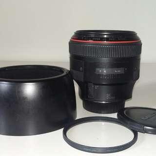 Canon ef 85mm f1.2L MK 1