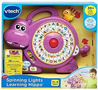 🚚 (Pre-Order)  VTech Spinning Lights Learning Hippo