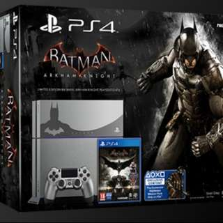 PS4 Limited Edition Batman Arkham Knight (Like New)