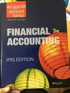 🚚 financial accounting 會計原文書