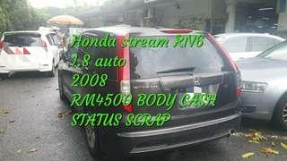 Honda stream RN6 1.8 auto 2008