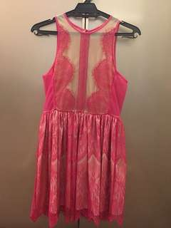 Pink dress ( Three Floor )