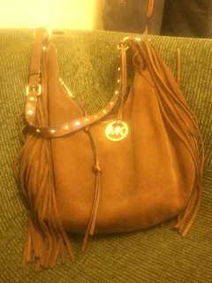 michael kors rhea suede hobo bag #july70