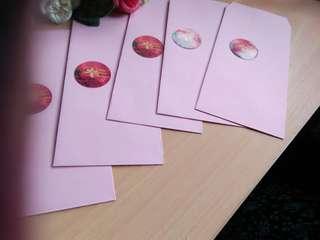 Wedding Anniversary Envelopes