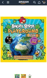 National Geographic Kids Angry Birds Playground Atlas - A Global Geography Adventure