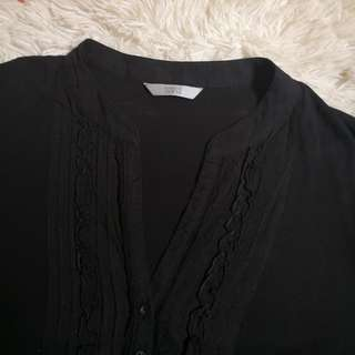 Marks & Spencer Chinese Collar Top
