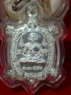 Thai Amulet~lp liew turtle