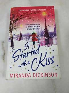 It started with a kiss - Miranda dickinson