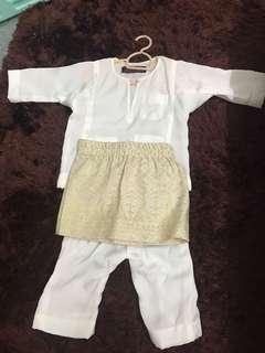Baju Melayu Budak & Sampin